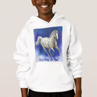 Heavenly Leopard Appaloosa Kids Sweatshirt