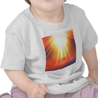Heavenly light background t-shirt
