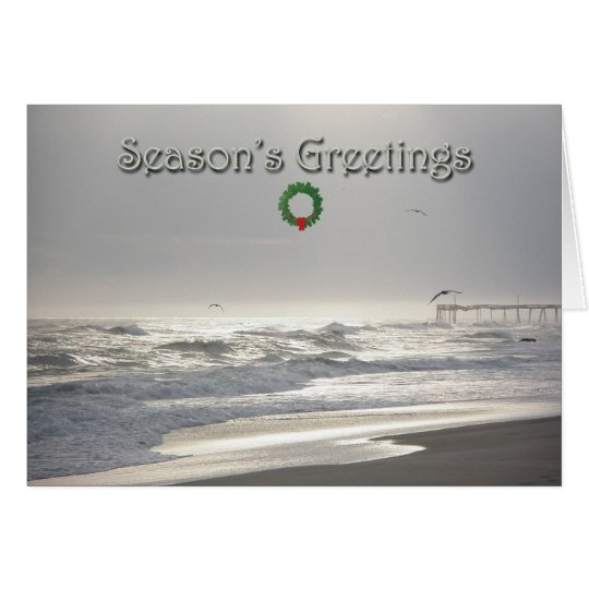 Heavenly Light Season's Greetings Card
