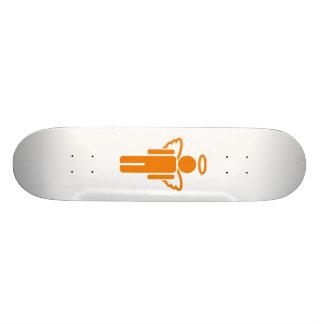 Heavenly Little Boys Room (White) Skateboard Deck