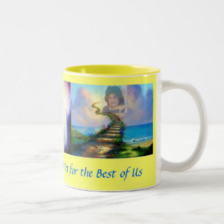 Heavenly Mama2 Two-Tone Coffee Mug