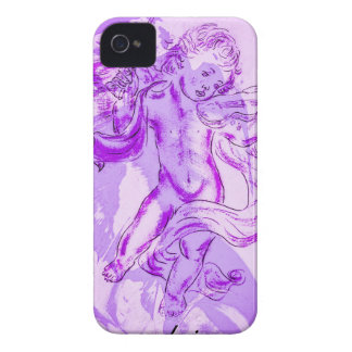 Heavenly music, glad Christmas iPhone 4 Cover
