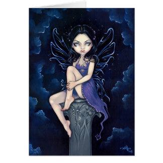 """Heavenly Nightshade"" Greeting Card"