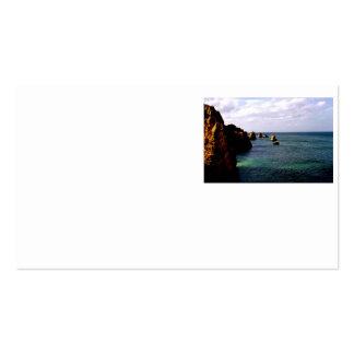 Heavenly Portugal Ocean - Teal & Azure Business Card