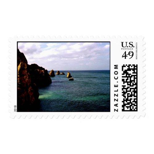 Heavenly Portugal Ocean - Teal &amp&#x3B; Azure Postage