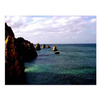 Heavenly Portugal Ocean - Teal & Azure Postcard