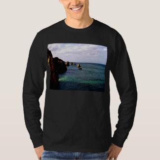 Heavenly Portugal Ocean - Teal & Azure T-Shirt