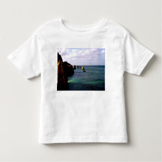 Heavenly Portugal Ocean - Teal & Azure Toddler T-shirt