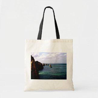 Heavenly Portugal Ocean - Teal & Azure Tote Bag