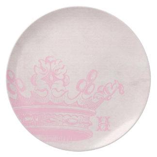 Heavenly Princess Crown Plate