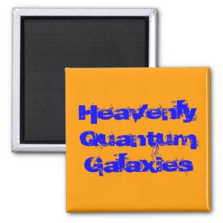 Heavenly Quantum Galaxies 2 Inch Square Magnet