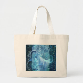 HEAVENLY QUEEN OF MERCY LARGE TOTE BAG