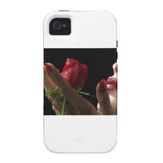 Heavenly Red Rose scent of Amour, Love, Desire Vibe iPhone 4 Cover