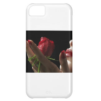 Heavenly Red Rose scent of Amour, Love, Desire Case For iPhone 5C