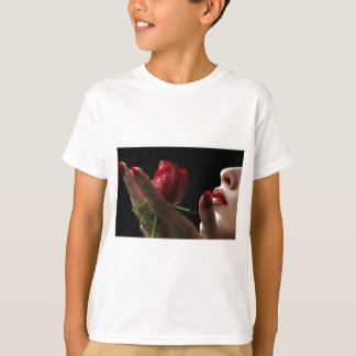 Heavenly Red Rose scent of Amour, Love, Desire T-Shirt