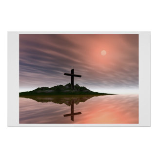 heavenly reflections print