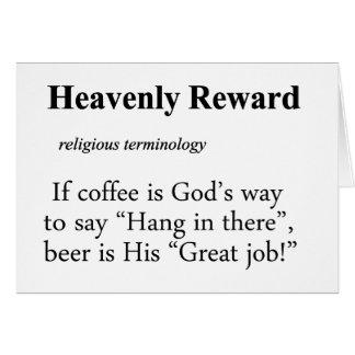 Heavenly Reward Definition Cards