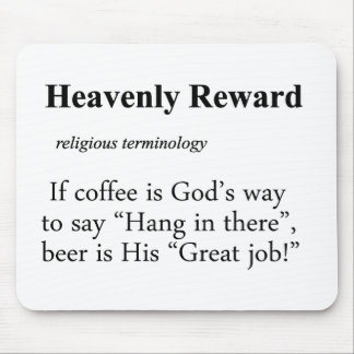 Heavenly Reward Definition Mouse Pad