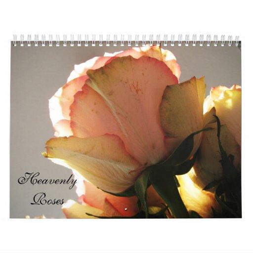 Heavenly Roses Calendar