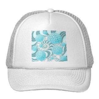 Heavenly Sea Shells, Abstract Pastel Beach Trucker Hat