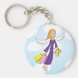 Heavenly Shopping keychain