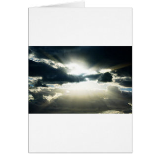 Heavenly Sky Daybreak Greeting Card