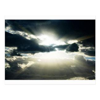 Heavenly Sky Daybreak Postcard