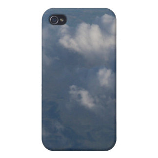 Heavenly Storehouses of Blue Cloudy Sky Gift Items Covers For iPhone 4