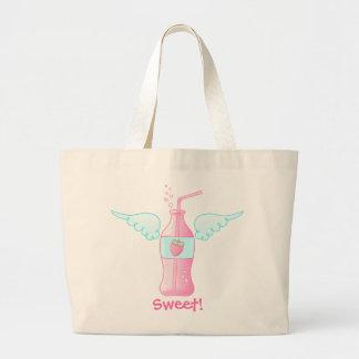 Heavenly Strawberry Soda Jumbo Tote Bag