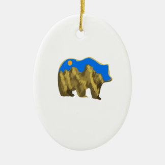 Heavenly Stroll Ceramic Ornament