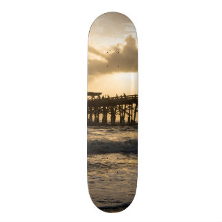 Heavenly Sunrise Skateboard
