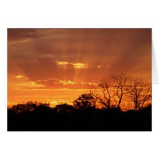 """""""heavenly sunset"""" by Larry Coressel Card"""