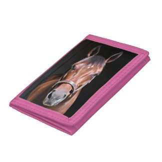 Heavenly View-Filly Tri-fold Wallet