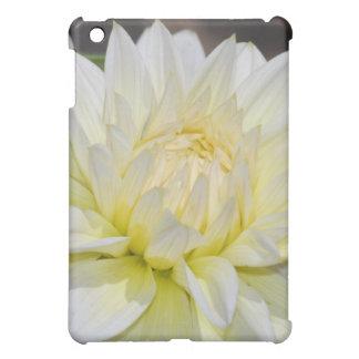 Heavenly White Dahlia Case For The iPad Mini