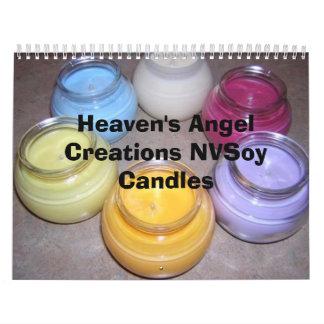 Heaven's Angel Creations NVSoy Candles Calendar
