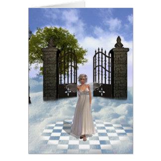Heavens Angel Greeting Card