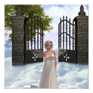 Heavens Angel Invitations