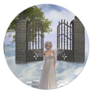Heavens Angel  Plate