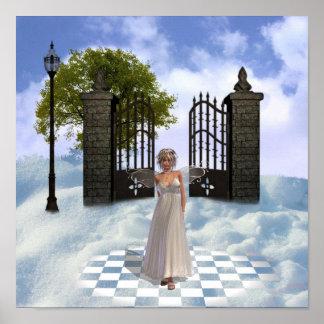 Heavens Angel Poster