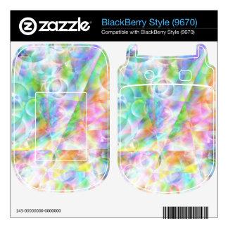 Heavens Bubbles Skin For BlackBerry