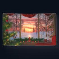 Heaven's Dayspring Christmas Banner