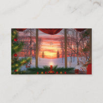 Heaven's Dayspring Christmas Bookmarks Business Card