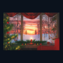 Heaven's Dayspring Christmas Canvas Print