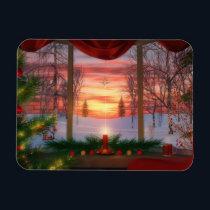 Heaven's Dayspring Christmas Flexible Magnet