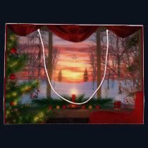 Heaven's Dayspring Christmas Gift Bag