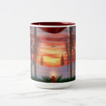 Heaven's Dayspring Christmas Mug