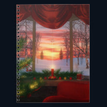 Heaven's Dayspring Christmas Notebook