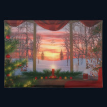 Heaven's Dayspring Christmas Placemat