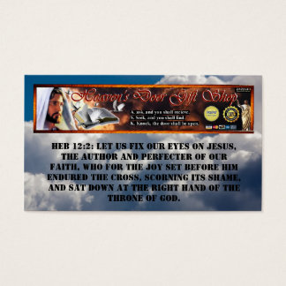 Heavens Door Gift Shop Business Card