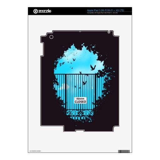 Heaven's door iPad 3 skin
